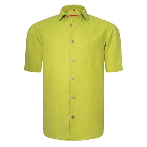 Signum - ICON Hemd - Farbintensives Leinenhemd - Classic Fit - M