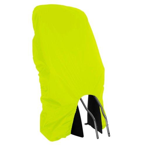 MadeForRain Sitzfester Sicherheits-Regenschutz für Kinder-Fahrradsitze - Neongelb