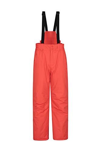 Mountain Warehouse Pantalón Nieve Dusk Hombre con Bolsillos, Polainas para Nieve, Cinturón elástico