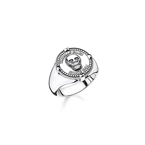 Thomas Sabo Herren-Ringe 925_Sterling_Silber mit \'- Ringgröße 62 TR2210-637-21-62