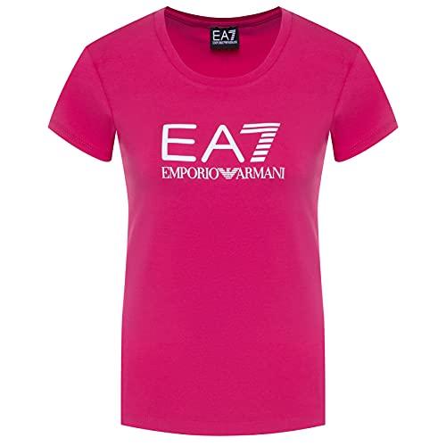 Emporio Armani EA7 8NTT63 TJ12Z - Camiseta de manga corta para mujer, fucsia, S