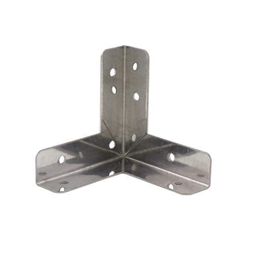 ダイドーハント (DAIDOHANT) (補強金物) ステンレス 三方面 コーナー型 [SUS304] (W)9x(A)31x(B)31mm (2個入) 63089