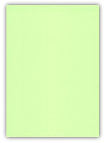 25 Blatt farbiges Premium Briefpapier Caribic Format DIN A4 ( 210 x 297 mm ) Farbe Briefbogen Grün Mintgrün Hellgrün, Karibik Papier (CAR-780)