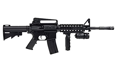 SAIGO - M4 RIS Defense Fucile Softair a Molla (Spring) - Cal 6mm -0,5 Joule