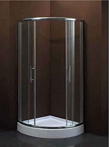 Komplettdusche Glasablage bietet ausreichend Abstellfläche für Shampoo und Lotionen