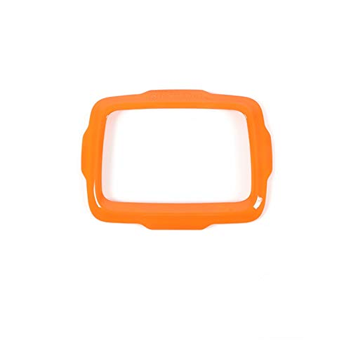 CMEI Molduras Interiores Ajuste para Jeep Renegade 2016 ABS GPS Decoración de la navegación Accesorios de Marco Ajuste para Jeep Renegade 2017 Pegatinas (Color Name : Orange, Size : Large Screen)