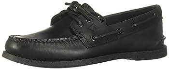 Sperry Men s Authentic Original 2-Eye Boat Shoe Black 10 M US