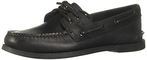 Sperry A/O 2 Eye, Chaussures Bateau Homme, Noir, 45