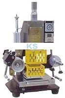 空気圧ホットフォイルスタンピングフォイルスタンパープリンターレザーデボス加工機11080mm110V / 220V 90