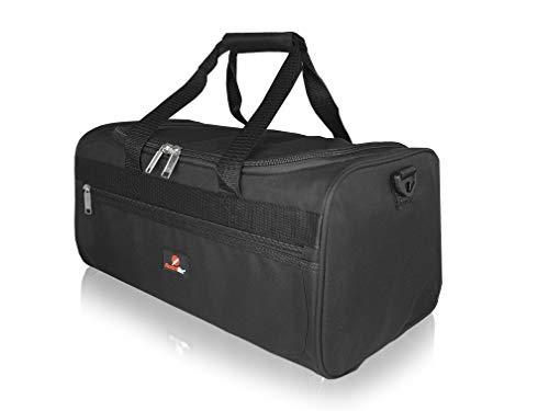 Roamlite Kleine Reisetasche Ryanair Zweites Handgepäcktasche - Kabinentasche Bordgepäck, Leichte 0,4 Kg Exakte Größe 40 25 20 cm Ryan Air Handgepäck RL59Ka Schwarz