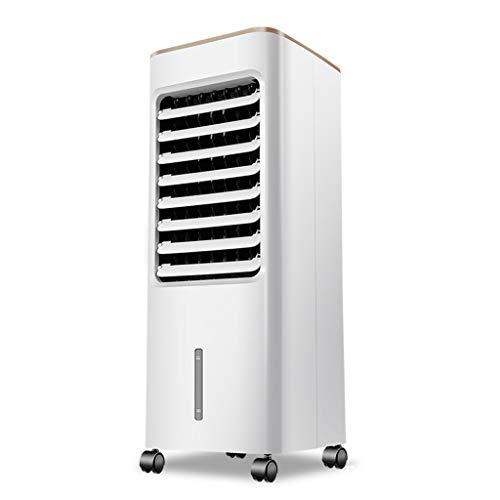 Raffreddatore ad Aria Portatile con Ventola per umidificazione Tanica da 5 Litri per Uso Domestico o in Ufficio, Bianco