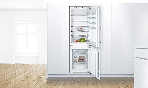 Bosch KIS86AFE0 Serie 6 Einbau-Kühlschrank mit Gefrierfach / E / 177,5 cm Nischenhöhe / 219 kWh/Jahr / 192 L Kühlteil / 74 L Gefrierteil / VitaFresh plus / LowFrost