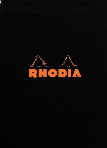 ロディア No.16 方眼罫 ブラック cf162009