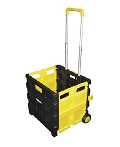 Rolson Tools 68900 Zusammenklappbarer Einkaufs-Trolley, 25kg