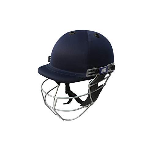 SS Cricket Premium Super Helmet - Large Men's Size with Adjustable Grill