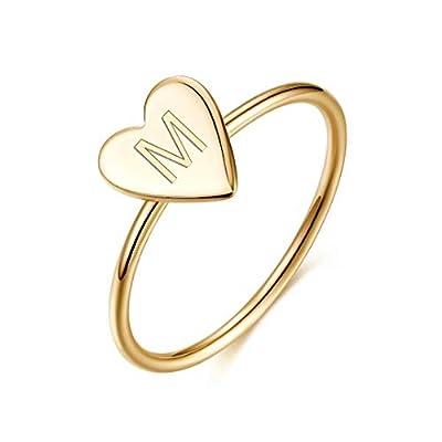 Memorjew 925 Sterling Silver Rings for Girls Wo...