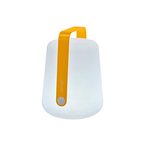 Fermob Balad mobile LED-Leuchte mit Akku Ø 19 cm H 25 cm (Honig)