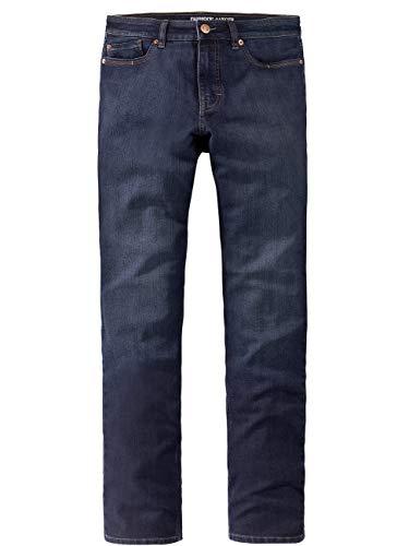 Paddocks`s Herren Jeans Ranger Pipe - Tight Fit - Schwarz - Blue Rinse, Größe:W 34 L 32, Farbauswahl:Blue Rinse (4339)