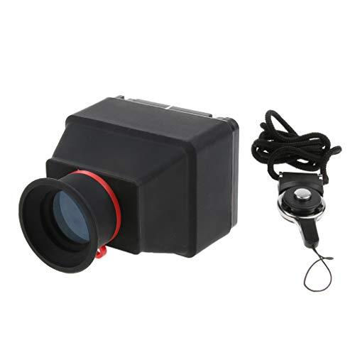 Baoblaze LCD Viewfinder Displaylupe Sucherlupe (3X Vergrößerung) für DSLR-Kamera mit 3,0/3,2 Zoll LCD-Schirm - 3,2 Zoll