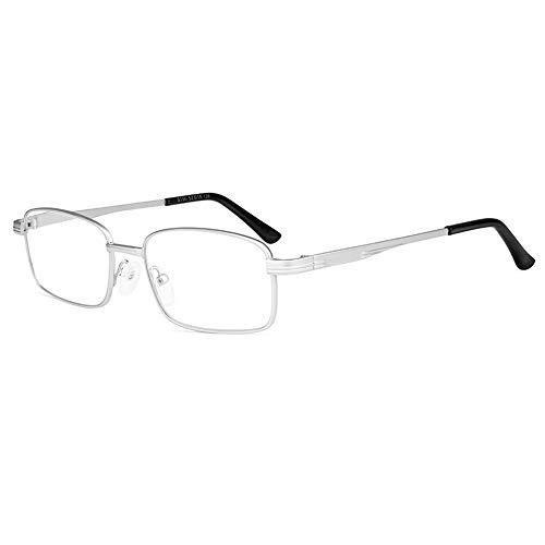 Gafas De Lectura Con Lentes De Cristal Natural Para Hombres Y Mujeres Gafas Ópticas Resistentes Al Desgaste Y A Los Arañazos HD Con Dioptrías +1,00 A +3,00