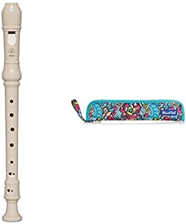 YAMAHA YRS-23, Flauto Dolce Diteggiatura Tedesca & SaftaSupporto per flauto ufficiale Protezione per flauto 370x20x80mm, [...