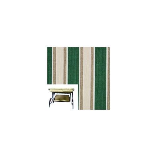 Kussen Xtra wit + Multiriga groen schommelbank 3P [XTRA BIANCO]