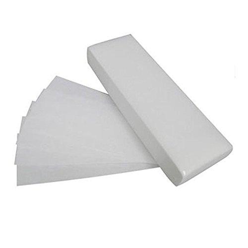 Les bandes de cire de cire de papier professionnel font la taille non tissée de visage de bikini de corps de jambe