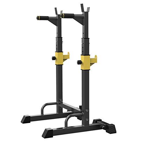 Miwaimao Squat Rack Pull Up Bar Dominadas Sentadillas Stand Ajustables Anchura Y Altura Barra Pesas Estante MAX 300Kg Musculacion Levantamiento De Pesas Rack