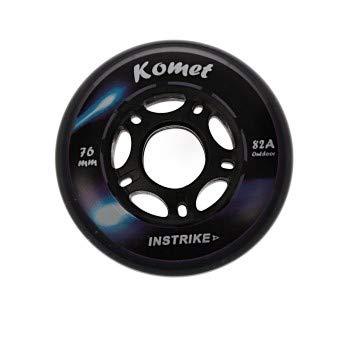 Instrike Komet 82A Outdoor Profi Rolle einzeln Diverse Größen für Skaterhockey Skateboards oder Alles was Rollen braucht (O 68 mm)