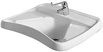 Lavabo da appoggio o sospeso Easy.02-60 cm Pozzi Ginori Bianco A Magazzino