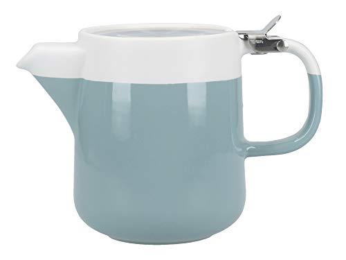 La Cafetiere UK Limited C000400 La Cafetière Barcelona - Tetera (cerámica), color azul y blanco
