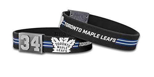 BRAYCE® Toronto Maple Leafs Armband mit Deiner Trikot Nummer 00-99 I Eishockey pur mit dem NHL® Leafsnation Trikot am Handgelenk personalisierbar & handgemacht