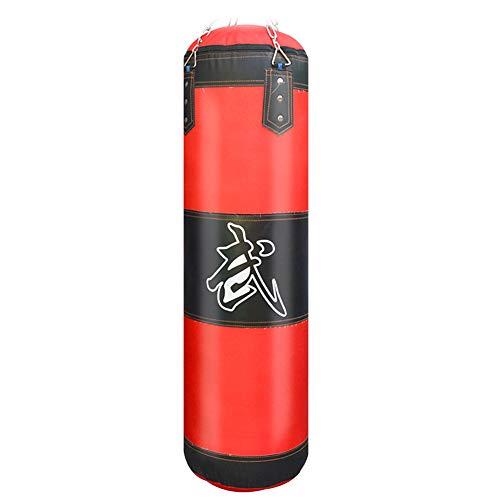 QinnLiuu Boxsack, Hohlset Boxen Boxsack Handschuhe Hängende Kette Anker Decke Kickboxen Boxsäcke Für Boxen Und Muay Thai,120CM