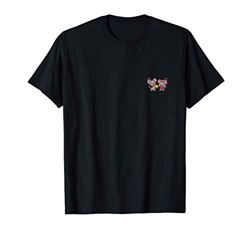 RATÓN Pareja Regalo Boda Aniversario San Valentín Mujer Camiseta
