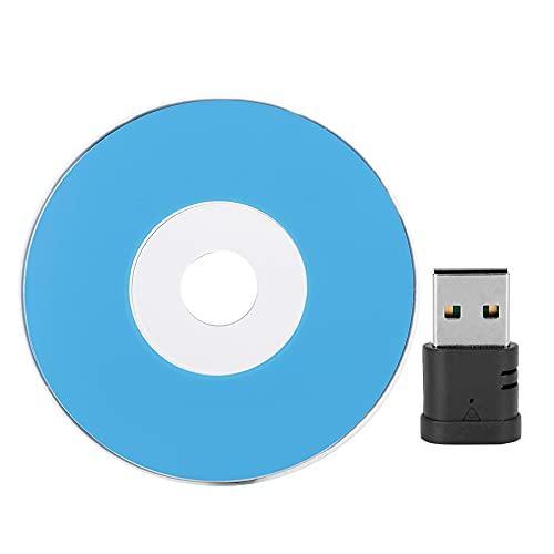 Adaptador de Tarjeta de Red, inalámbrico 600Mbps 2.4G / 5G Puerto USB de Doble Banda Tarjeta de Red inalámbrica Adaptador de Tarjeta de Red USB para XP / WIN7 / WIN8 / WIN8.1 / WIN10 / Mac OS
