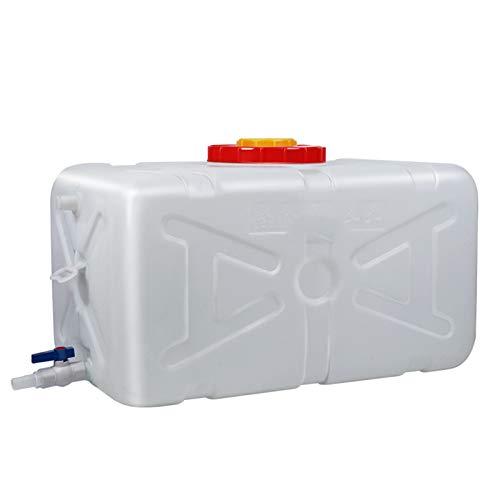 Almacenamiento de agua Tanque Gran Capacidad Tanque de Agua Cuadrado sin BPA para Acampar al Aire Libre, etc. Capacidad 25L, 30L, 50L, 80L ZLINFE (Size : 25L)