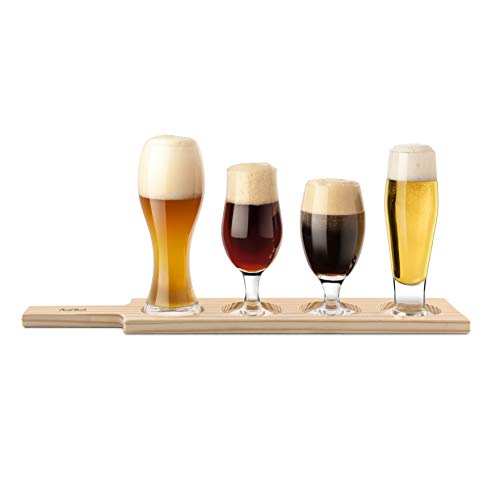 Degustazione di birra: set di 6 bicchieri