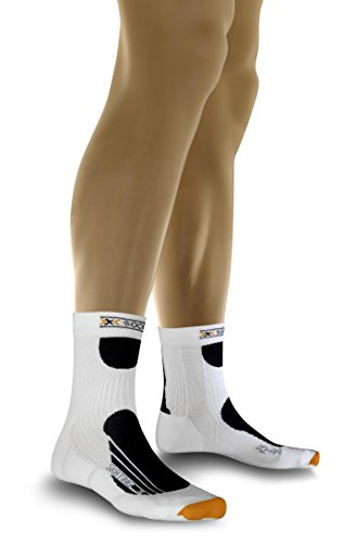 X-Socks Funktionssocke Skating Pro Langlaufstrumpf, white/black, 45-47