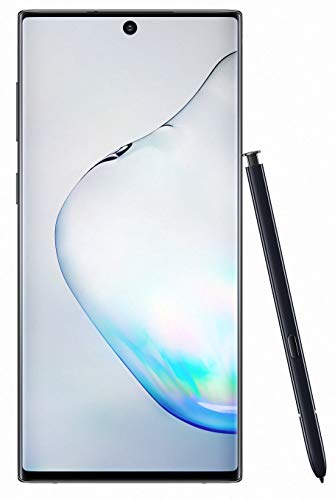 Samsung Galaxy Note10 Smartphone, Display 6.3' Dynamic AMOLED, 256 GB Espandibili, SPen Air Action, RAM 8 GB, Batteria 3.500 mAh, 4G, Dual SIM, Android 9 Pie, Nero (Aura Black)
