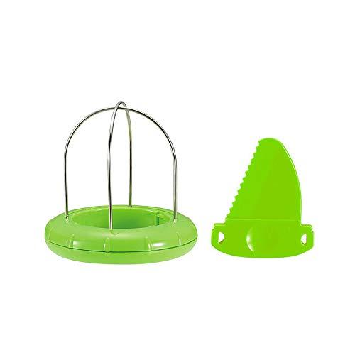 FU LIAN Éplucheur à Fruits en Plastique en Acier Inoxydable , Coupe-Kiwi Coupe-Kiwi Pitaya aya Simple à Utiliser Design créatif Bonne Aide dans la Vie Pleine Chair , Gadgets d'outils de Cuisine