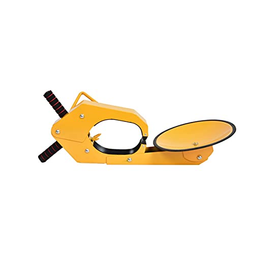 UFFD Wheel Lock Clamp Boot Tire Claw Heavy-Duty Anti Theft Parking Boot Car Tire Claw Parking Boot Lock (1 pc) (Color : Yellow, Size : 750mmx285mm)