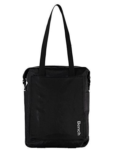 Bench Damen BAWX000943 Schultertasche, Black Beauty, 45 x 39.6 x 8 cm