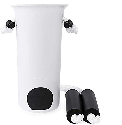 Vaunn Medical EZ-TUG Sock Aid Assist with Foam Grip Handles and...