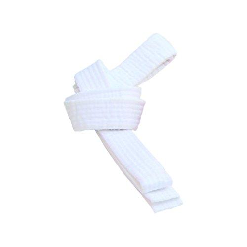 BeMartial Beginner, Cintura Unisex – Adulto, Bianco, 6/320 cm