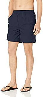 Burnside Men's Explorer Hybrid Swim Short Navy Moon Large [並行輸入品]