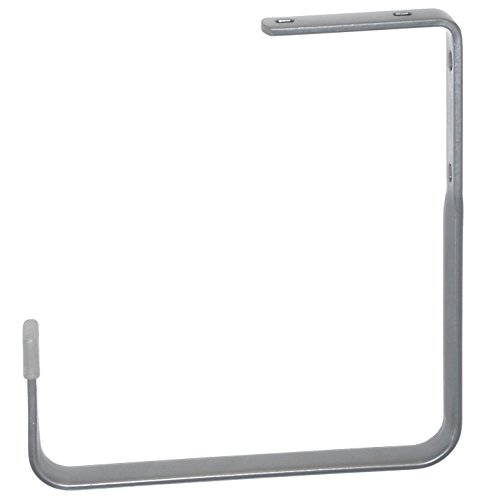 Element System 18133-00115 Wandhaken + Decke / 2 Stück/H x T = 205 x 185 mm/weißaluminium