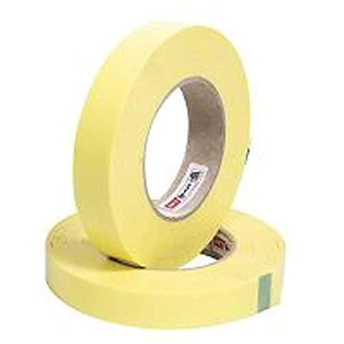 Gurpil Rollo 10 Metros x 25mm Fondo de Llanta Tubeless Amarillo