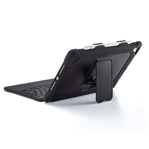 サンワサプライキーボード10.2インチiPad専用2019年第7世代スマートコネクタパンタグラフMfi認証ケース付きブラックSKB-IP5BK