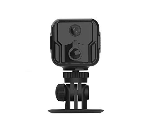 LUVISION 4G / LTE Mini Kamera Kabellose Überwachungskamera mit PIR Bewegungserkennung Pocket Kamera für Mobilfunk SIM Karte Auto KFZ PKW Parküberwachung ohne WLAN versteckte Nachtsicht