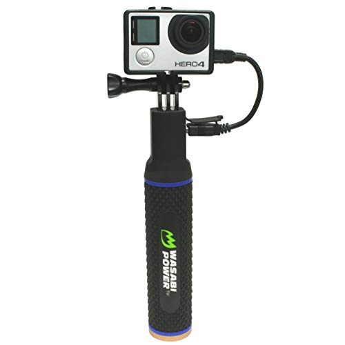 Wasabi Power Clutch (Power Bank Hand Grip) for Compact Digital Cameras, GoPro Cameras, Action Cameras, and Smartphones